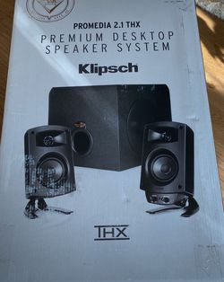 Klipsch ProMedia 2.1 THX Computer Speakers Brand NEW for Sale in Center Valley,  PA