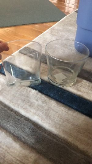 Two glass vases for Sale in Randallstown, MD