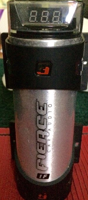 FIERCE CAR AUDIO CAPACITOR for Sale in Essex, MD