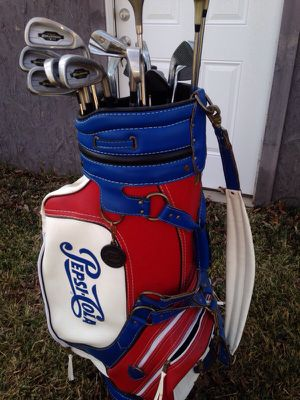 Golf bag with full set of clubs for Sale in Dallas, TX