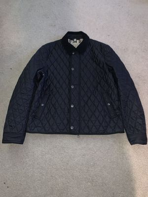 Burberry Brit women L black quilted jacket for Sale in Portland, OR