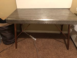 Meta desk! Normal wear and tear. 25x12 3 feet tall. Will need a truck to take this! for Sale in Fresno, CA