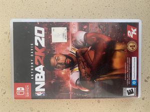 NBA2K20 Nintendo Switch $10 for Sale in Temecula, CA
