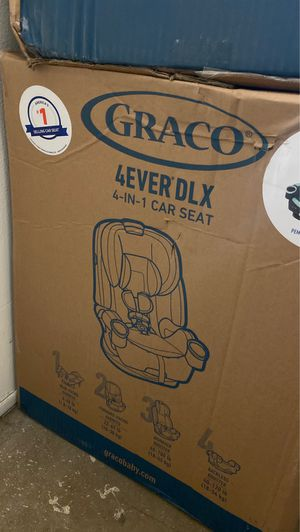(NEW) Graco 4Ever DLX 4-in-1 Convertible Car Seat, Pembroke Teal for Sale in Phoenix, AZ