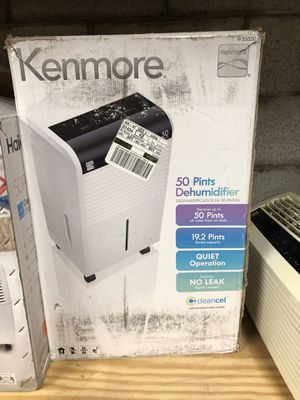 Kenmore KM50 50pint Dehumidifier #55550 for Sale in Columbus, OH