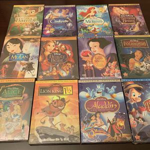 Disney Princess Cartoons. Pick Any 6 for 20 Dollars for Sale in Sugar Land, TX
