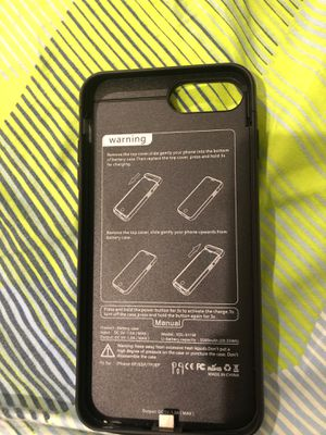iPhone 8 Plus charging case for Sale in Brooklyn, NY