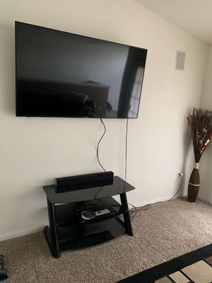 SHARP 65 INCH HD UHD SMART TV WITH TILT WALL MOUNT & TV STAND for Sale in Montgomery, AL