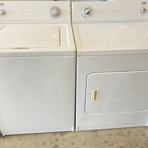Estate Washer And Estate Dryer Heavy duty By Whirlpool Corporation for Sale in Euless, TX
