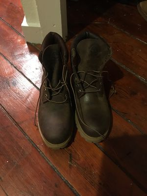 Timberland Boots: Men's 11.5, Genuine Leather and Never Worn for Sale in Philadelphia, PA