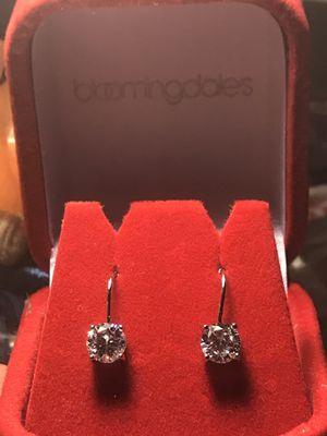 Bloomingdale's Diamond Earrings for Sale in Santa Monica, CA