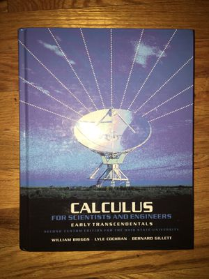 Calculus for Scientists and Engineers 2nd custom edition OSU for Sale in Columbus, OH