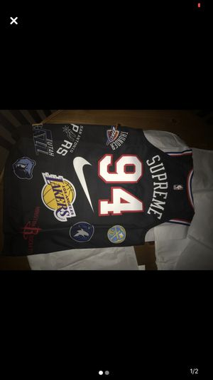 Supreme Nike Jersey for Sale in West Bloomfield Township, MI