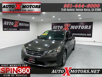 2015 Honda Accord Sedan for Sale in Norco,  CA