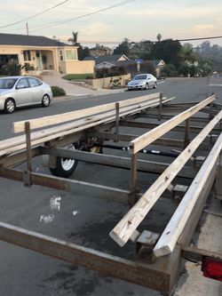 Dual Axle Pontoon Boat Trailer for Sale in San Diego,  CA