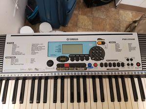 yamaha psr 225gm keyboard for Sale in Bellevue, WA