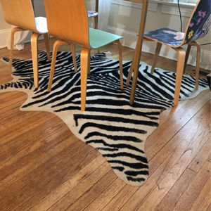 Zebra Area Rug for Sale in Washington, DC