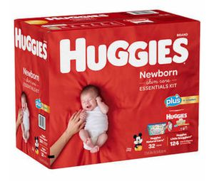 Huggies Plus Diapers Newborn Pack for Sale in Hartford, CT