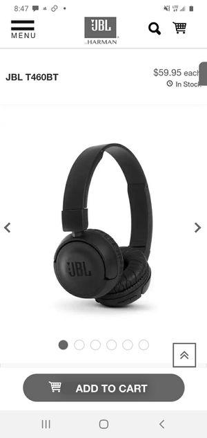 JBL WIRELESS BLUETOOTH HEADPHONES for Sale in Scottsdale, AZ