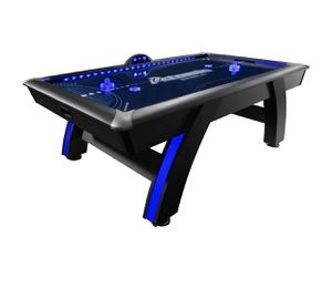 Atomic 7.5' Indiglo LED Light Up Arcade Air-Powered Hockey Table Includes 2 LED Pushers and LED Puck for Sale in Austin, TX