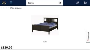 IKEA Hermès Queen bed frame ($550 new) for Sale in Seattle, WA