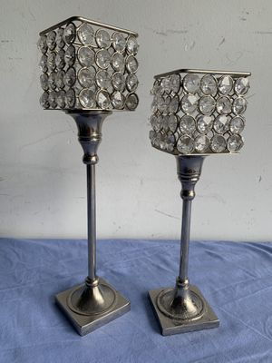 Pair of candle holders for Sale in Fort Lauderdale, FL