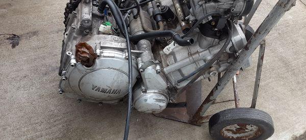 Yamaha Motorcycle Engine. Parts