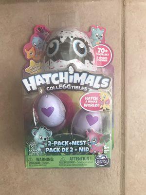 Hatchimals Colleggtables 2 Pack +Nest for Sale in Arlington, VA