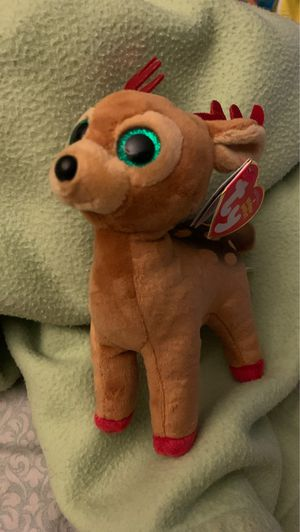 Ty Beanie Babies reindeer Tinsel for Sale in Rancho Cucamonga, CA
