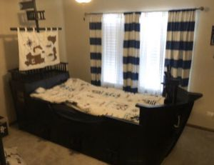 Olivia & Will twin size boat bed for Sale in Romeoville, IL