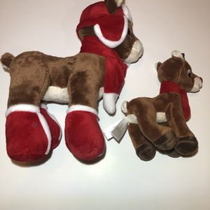 New Rudolph Dan Dee Plush Set for Sale in Burrillville, RI