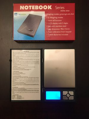 Brand new $10 each digital pocket scale jewelry scale high accuracy for Sale in Pico Rivera, CA