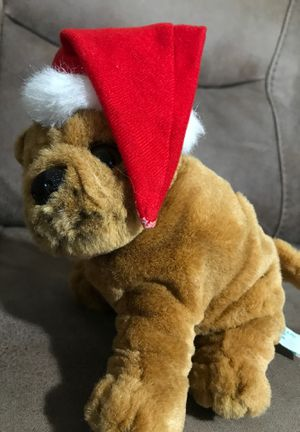 "9"" Xmas Dog stuffed animal $2 for Sale in Menifee, CA"