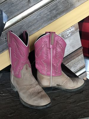 Old West Girls Boots size 3 for Sale in Mount Vernon, WA