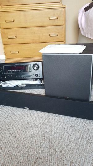 Denon & Polk Audio surround system for Sale in Lutz, FL