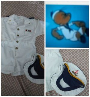 Halloween Baby Sailors Captain outfit for Sale in Whittier, CA