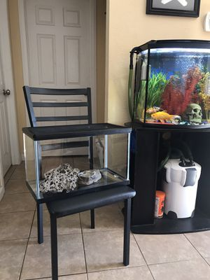 10 gallon fish tank or reptile tank for Sale in Sacramento, CA
