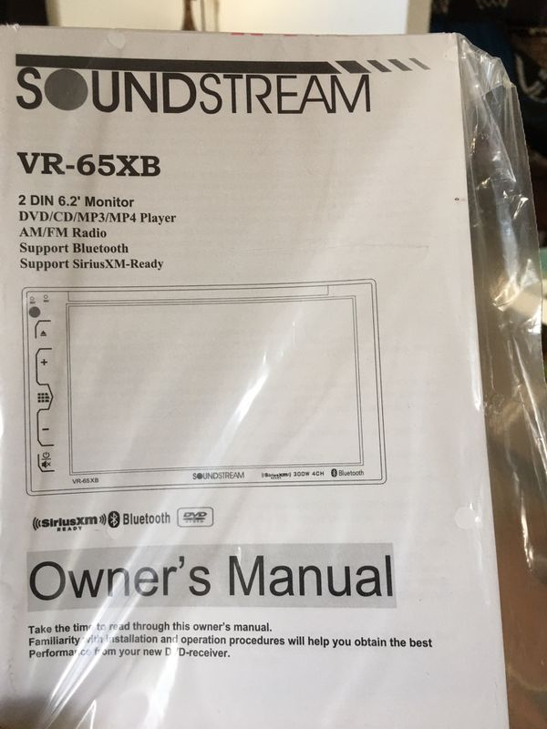 Soundstream CD/DVD Player (Basically New)