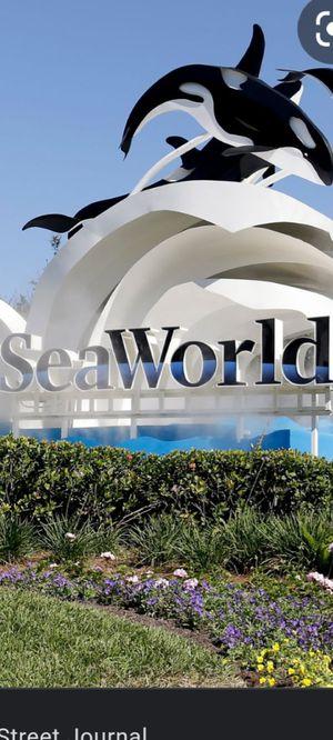 SeaWorld aquatica tickets $40 for Sale in Orlando, FL