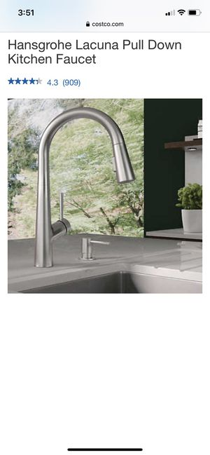 Hansgrohe Lacuna Pull Down Kitchen Faucet for Sale in Anaheim, CA