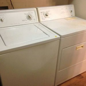 $250 Kenmore Washer and Dryer Electric in good working condition and FREE Delivery!! for Sale in Austin, TX