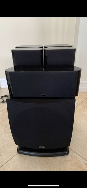 Polk Audio Home Theater Sound System W/ Yamaha Receiver for Sale in Fort Lauderdale, FL