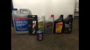 OEM Honda Maintenance Parts - Transmission Fluid Coolant Oil Filter Hondabond for Sale in West Covina, CA