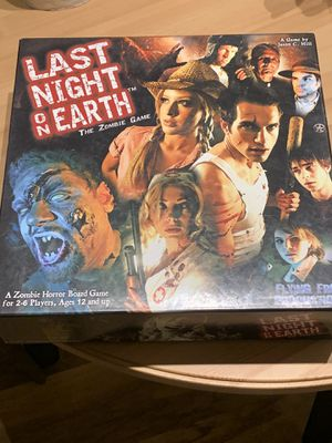 Last night on earth board game - $30 for Sale in Pacifica, CA