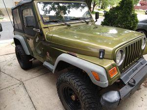 1997 Jeep Wrangler TJ off road for Sale in Ashburn, VA
