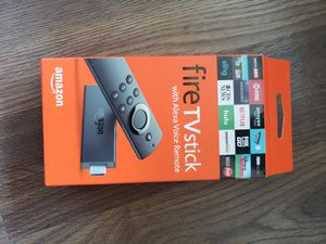 Fire TV Stick with Alexa Voice Remote for Sale in Austin, TX
