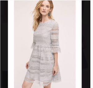 NWT Anthropologie HD in Paris Light Blue Dress | Small for Sale in Fort Lauderdale, FL