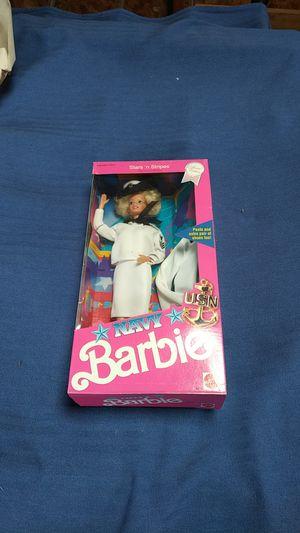 Navy Barbie NIB for Sale in Seattle, WA