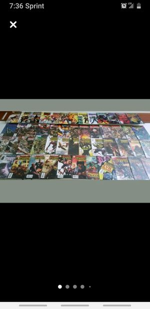 Trade or Cash MARVEL ZOMBIES FIRST EDITION COMPLETE SET $170 OR TRADE for Sale in Homer Glen, IL