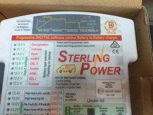 Sterling Power battery to battery charger BB1230 for Sale in Vancouver, WA